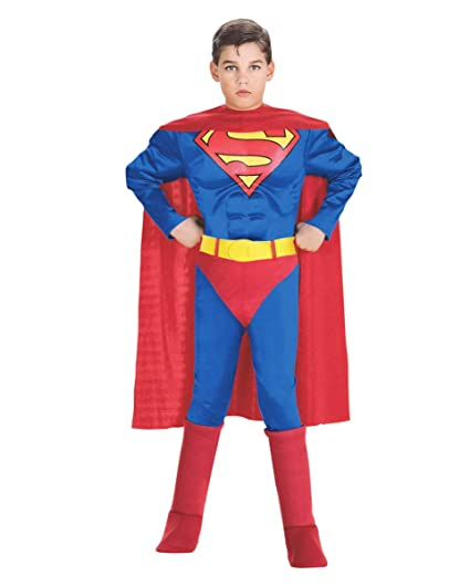 Horror-Shop Traje de Superman con la coraza Muscular L ...