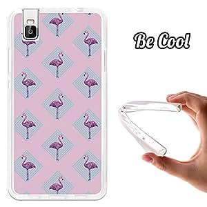 Becool® - Funda Gel Flexible para Huawei Honor 7i .Carcasa TPU fabricada con la mejor Silicona protege, se adapta a la perfección a tu Smartphone y con nuestro diseño exclusivo Flamingo Rosa