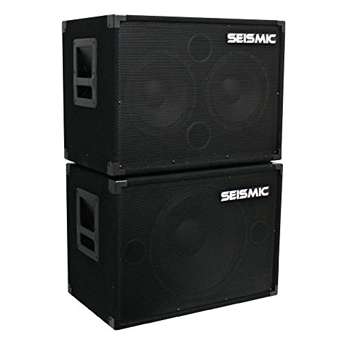 Cabinet Bass 115 - Seismic Audio - 1x15 & 2x10 BASS GUITAR SPEAKER CABINET COMBO PRO AUDIO