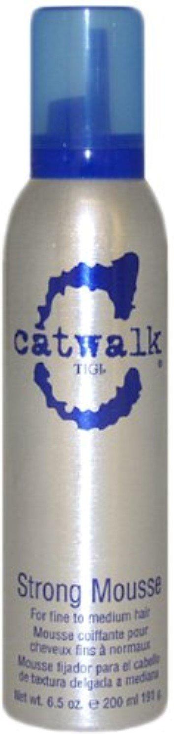 TIGI Catwalk Strong Mousse, 6.5 oz (Pack of 6)