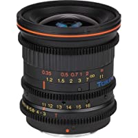 Tokina Cinema 11-16mm F/3.0-22 Wide-Angle-Zoom Fixed Zoom 11-16mm T3.0 with Canon EF Mount, Black (TC-116C)
