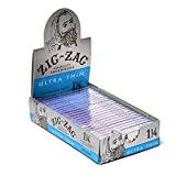 Zig Zag Rolling Papers Ultra Thin 1 1/4'' (2 Boxes - 24 Units per Box) - MJ-1377