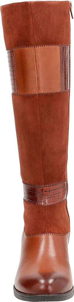CLARKS Woherren Nevella Nova Riding Riding Riding Stiefel Tan Multi Leather 8.5 M US ccdfd2
