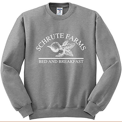 Unisex Nuff Said Schrute Farms Beets Bed and Breakfast Sweatshirt Sweater Pullover