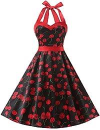 4f02bc1afc54c Vintage 1950s Rockabilly Polka Dots Audrey Dress Retro Cocktail Dress