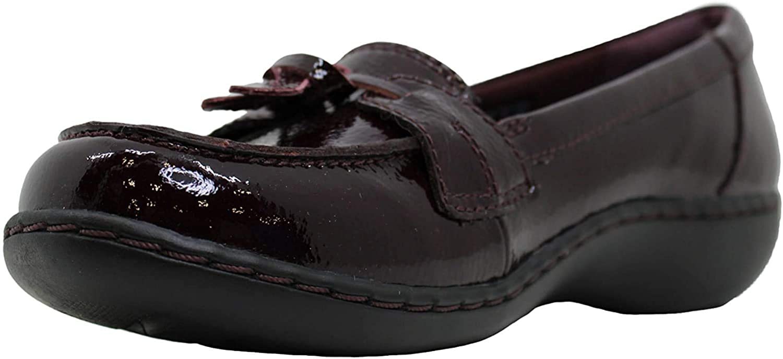 Clarks - Ashland Bubble da Donna Burgundy Patent Leather