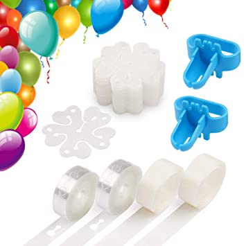 Amazon.com: Coogam - Kit de tiras de globo para decoración ...