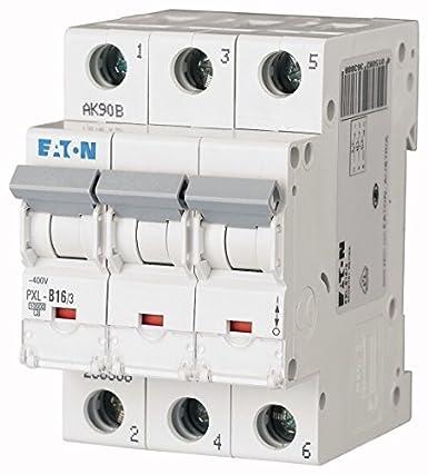 Eaton PXL-C16/3 Einbau-Automat, dreipolig, 236426