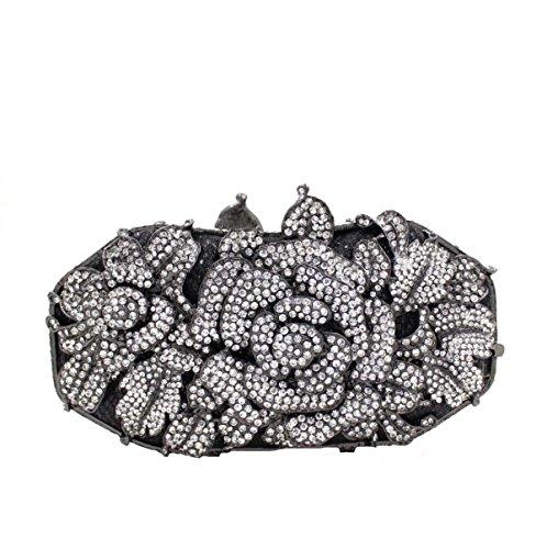 A Luxe Banquet Femmes Diamant Soirée Main Fleur À Sac De Pack xtrrXvz