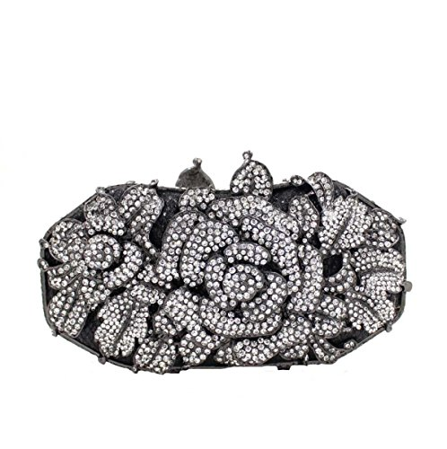 De A Banquet Luxe Pack Diamant Sac Femmes Sac Fleur Main à Soirée UT4nORq5w