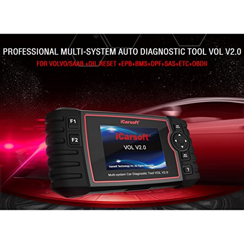 iCarsoft Auto Diagnostic Scanner VOL V2.0 for Volvo/SAAB with ABS Scan,Oil Service Reset ect by iCarsoft (Image #4)