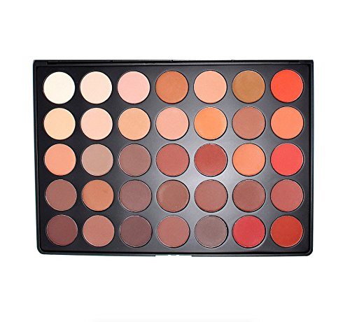 Morphe Brushes - 35OM - 35 Color Matte Nature Glow Eyeshadow Palette by MORPHE