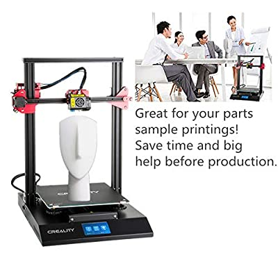 2018 Upgraged Creality 3D Printer CR-10S Pro with Auto-Level, Touch Screen, Capricorn PTFE and Bondtech Extruder Dual Gears, Printing Size 300mmx300mmx400mm Machine 3D Printers