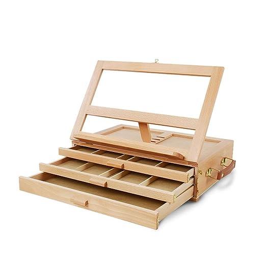 Caballetes de mesa de madera, Caballete de caja de almacenamiento ...