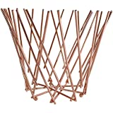 Copper Twig Design Fruit Bowl by Roman at Home