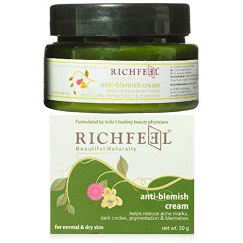 Richfeel Anti Blemish Cream, 50g