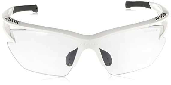Alpina Eye-5 Hr S Vl+ Lunettes de sport pour extérieur taille unique Matt Black-White Zg2MASX