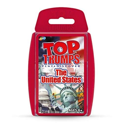 (United States Top Trumps Card Game)