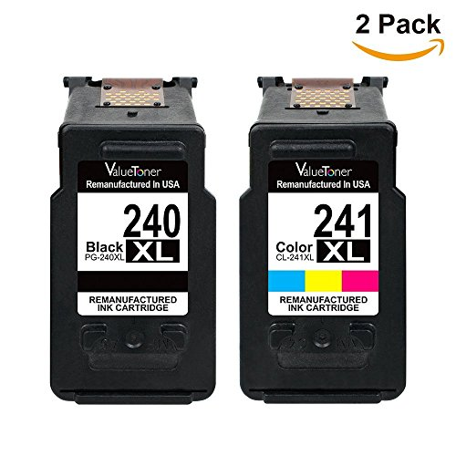 Valuetoner Remanufactured Ink Cartridge Replacement PG-240XL CL-241XL High Yield 5206B005 5206B001 5208B001 (1 Black, 1 Color) 2 Pack for Canon Pixma MG3620 MX432 MX532 MG3520 MX452 MX512 Printer Photo #7