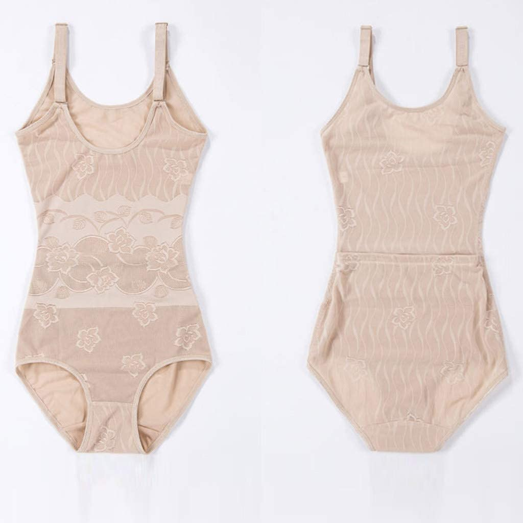Jumberri Plus Size Shapewear-The Waist Abdomen Camisole Conjoined Corsets Body Shaper