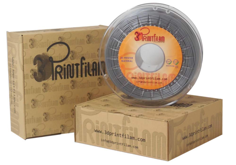 3DPrintfilam® Filamento PLA Premium Ingeo 3D850 Plata 1,75 mm 1Kg ...