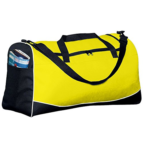 Price comparison product image Augusta Sportswear Large Tri-color Sport Bag OS Power Yellow / Black / White