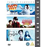 Happy Feet/Charlie And The Chocolate Factory/Corpse Bride