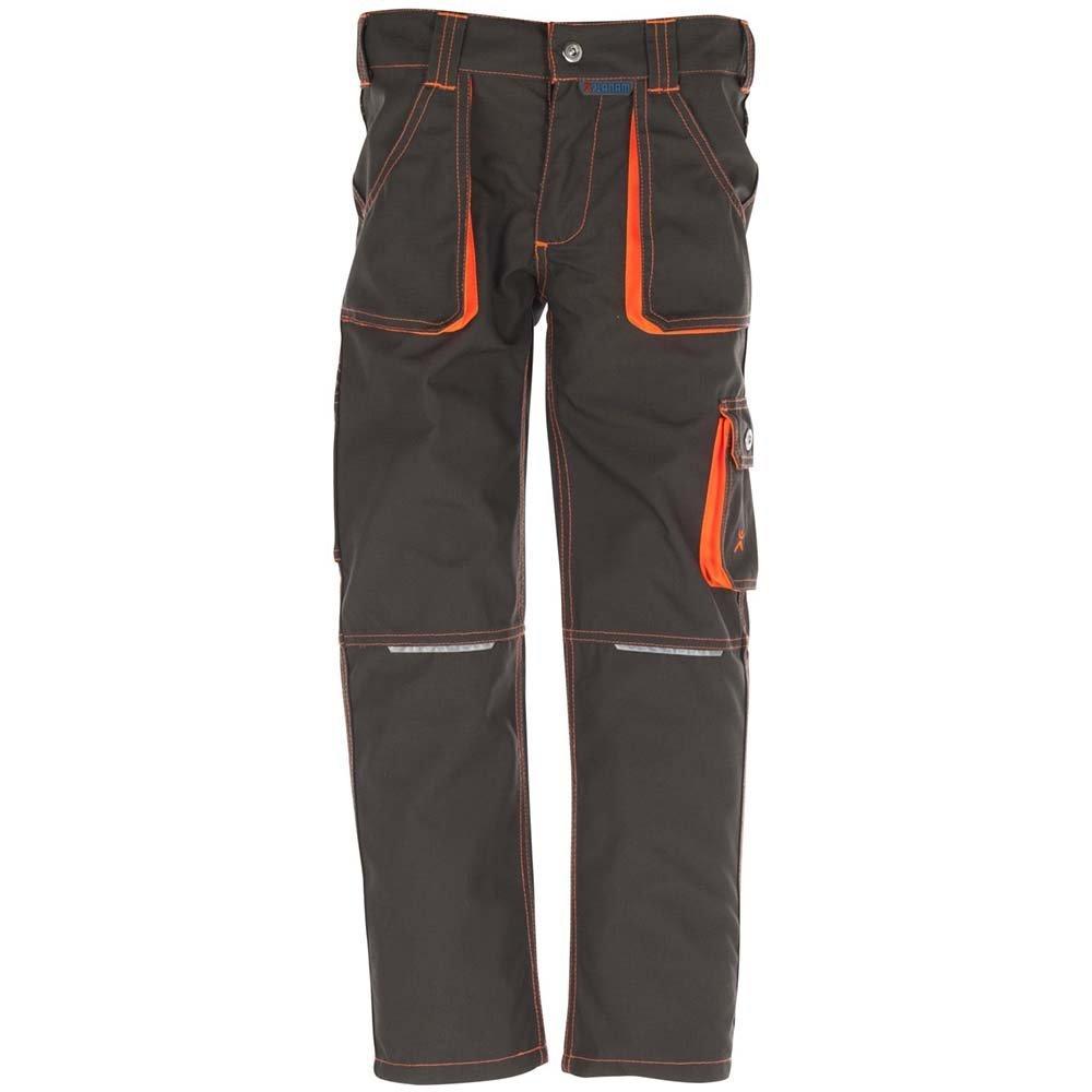 Gr oliv//orange 98//104 Planam Junior Bundhose,mehrfarbig