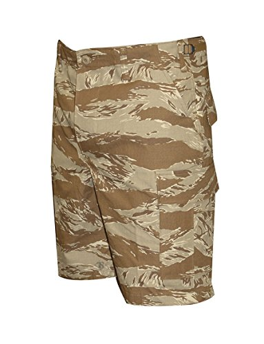 (Tru-Spec Men's BDU Zipper Fly Shorts, Original Desert Tiger Stripe, Medium/Regular )