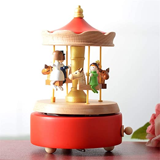 DRHYSFSA-Toy Cajas de Música Cajas Musicales Regalos Madera Caja ...