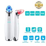 ANNA TOSANI Blackhead Remover Vacuum Suction Removal tool Rechargeable Facial Pore Cleanser with Light Electric Acne/Pimple/Comedone Extractor Kit Comedo suction Microdermabrasion Machine for Women and Men