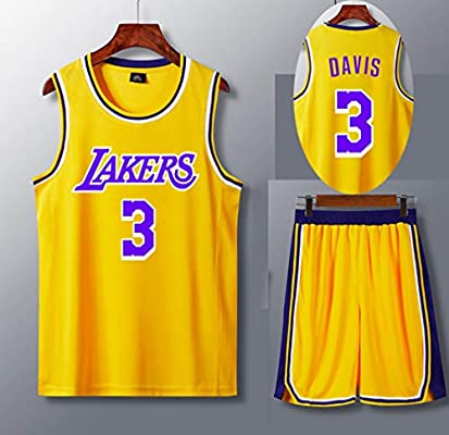 DUBAOBAO Conjunto de 23 Camisetas de Jersey de Los Ángeles ...