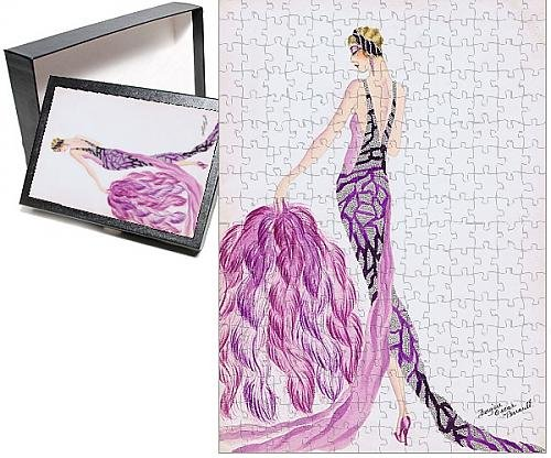 Photo Jigsaw Puzzle of Costume design by Bergere Oscar Perrault (Jig Saw Costume)