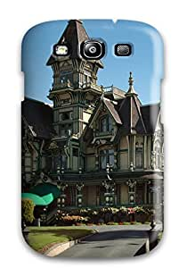 Colleen Otto Edward's Shop Galaxy S3 Architecture Houses Print High Quality Tpu Gel Frame Case Cover