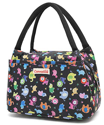 Canvaslove Insulated Lunch Bag Lunch Box Cooler Lunch Tote Organizer bag for Women(Animals) ()