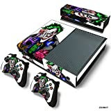 Cheap ZoomHit Xbox One Console Skin Decal Sticker The Joker + 2 Controller & Kinect Skins Set