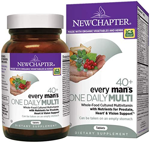 New Chapter. Every Man's One Daily 40+ . 72 T (2 Pack)