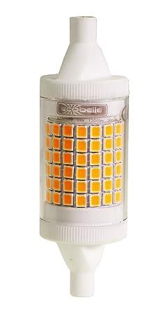 ECOBELLE® 1 x Bombilla LED R7S *MINI-HYPERNOVA* 9W 1200 Lúmenes,