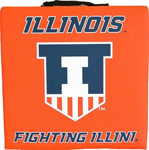 - NCAA Illinois Fighting Illini Bleacher Cushion
