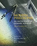 img - for Modern Philosophy: An Anthology of Primary Sources, 2nd Edition book / textbook / text book
