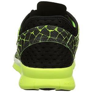 NIKE Women's Free 5.0 TR Fit 5 Prt Black/Mtllc Silver/Vlt/White Training Shoe 8.5 Women US