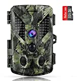 ABASK Trail Cameras 16MP 1080P Full HD Game Cameras with Night Vision Motion