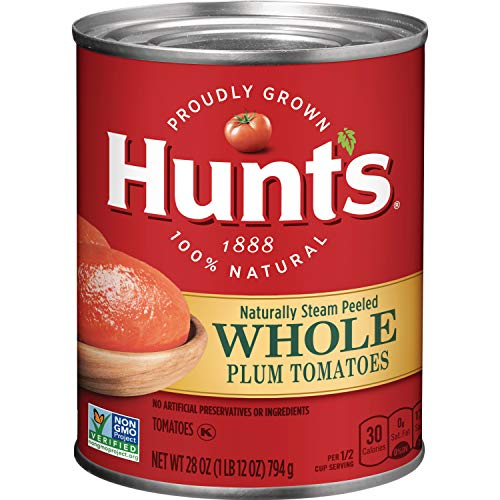 Hunt's Whole Peeled Plum Tomatoes, 28 -