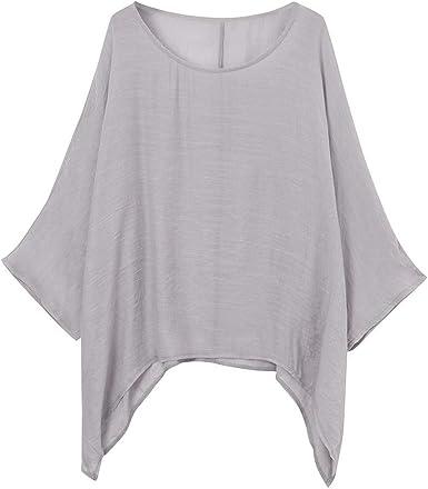 YUNY Men Long Sleeve Button Down Linen Thin Non-Iron Pure Colour Shirt Khaki S