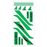 New ALZRC Devil 380 420 FAST RC Helicopter Part Carbon Vertical Stabilizer Colorful Sticker By Letbo