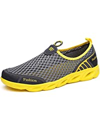 Ceyue Mens Water Shoes Lightweight Quick Dry Sports Aqua Shoes