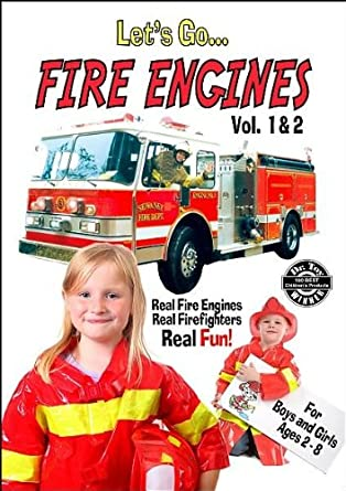 Amazon Com Let S Go Fire Engines Vol 1 2 Movies Tv