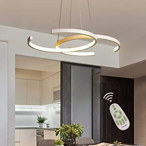 Modern LED Dining Room Pendant Light Dimmable Fixture ...