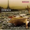 Enescu: Piano Quartets 1 & 2