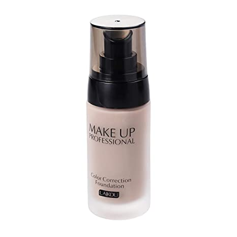 40g Whitening Coverage Flowing Liquid Foundation Concealer Oil-control Waterproof Makeup Cosmetics (Dark Skin Color): Amazon.in: Beauty